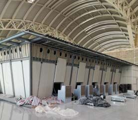 400 counters for the international airport of Algiers, Algeria