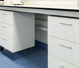 INTOS Lab Solutions delivers extra laboratory furniture from stock