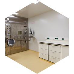 INTOS Lab Solutions laboratorium cleanroom